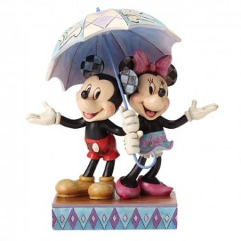 Rainy Day Romance (Mickey & Minnie Mouse Figurine)