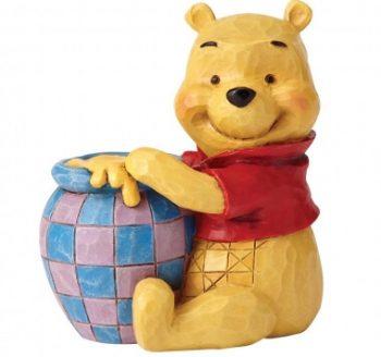 Winnie the Pooh with Honey Pot Mini Figurine