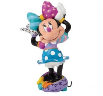 Disney BRITTO Collection Products Mickey Minnie Other Tinker Bell Winnie The Pooh Minnie New Beach Bunny Minnie Mouse Figurine 4052553 SRP: £55.00 each Minnie Mouse Figurine 4023846 SRP: £45.00 each Minnie Mouse Figurine 4050480 SRP: £35.00 each New Minnie Mouse Football Figurine 4052559 SRP: £35.00 each New Minnie Mouse Gymnastics Figurine 4052557 SRP: £35.00 each Minnie Mouse Mini Figurine 4027957 SRP: £17.00 each Minnie Mouse Mini Figurine