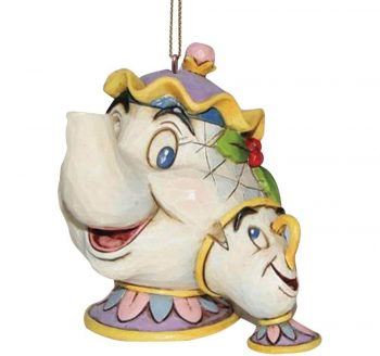 Mrs Potts & Chip Hanging Ornament