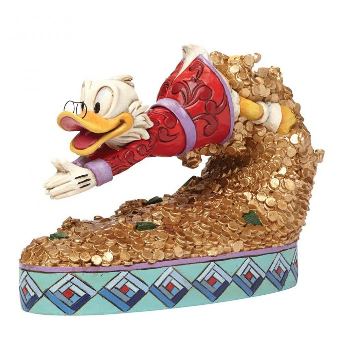 Treasure Dive (Scrooge McDuck Figurine)