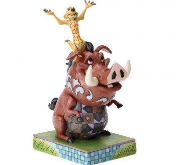 Carefree Cohorts (Timon and Pumbaa Figurine)