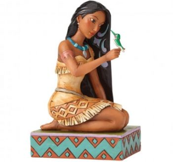 Free and Fierce (Pocahontas with Flit Figurine)