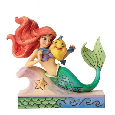 Fun and Friends (Ariel with Flounder Figurine)