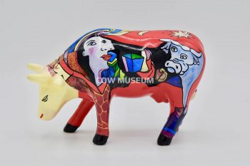 Hommage to Picowso's African Period (medium ceramic)