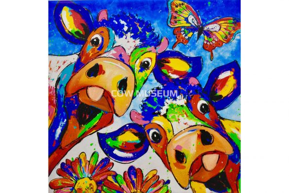 cow Painting Vrolijkschilderij 2137 medium