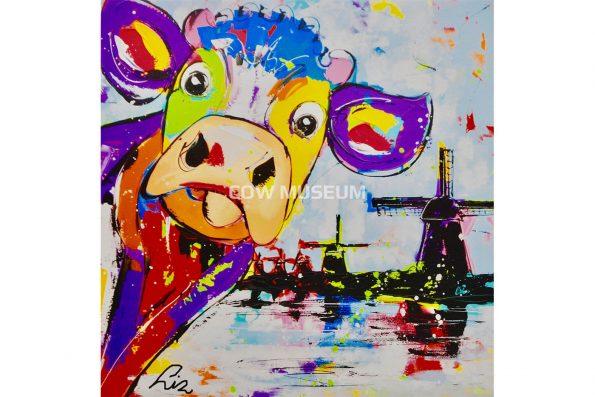 cow Painting Vrolijkschilderij 2126 small