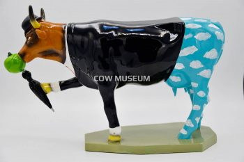 Moogritte cow (medium) Cow figurine
