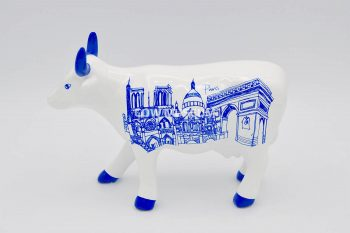 Paris Cow (medium ceramic)
