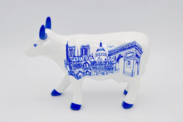 Paris Cow (medium ceramic)