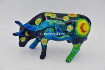 Vincent's Cow (medium ceramic) Cow figurine