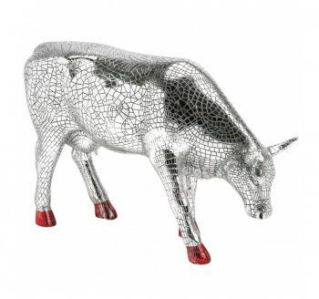 Mira Moo Silver cow parade