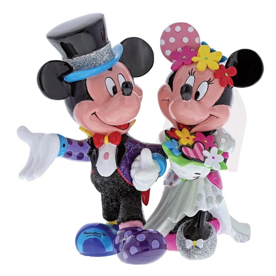 Mickey & Minnie Mouse Wedding Figurine
