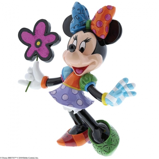Minnie Mouse with Flowers Figurine