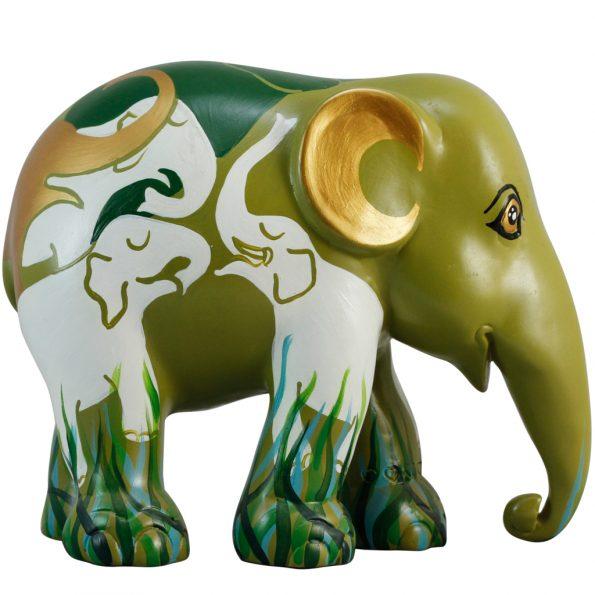 Elephants Communicating 20cm