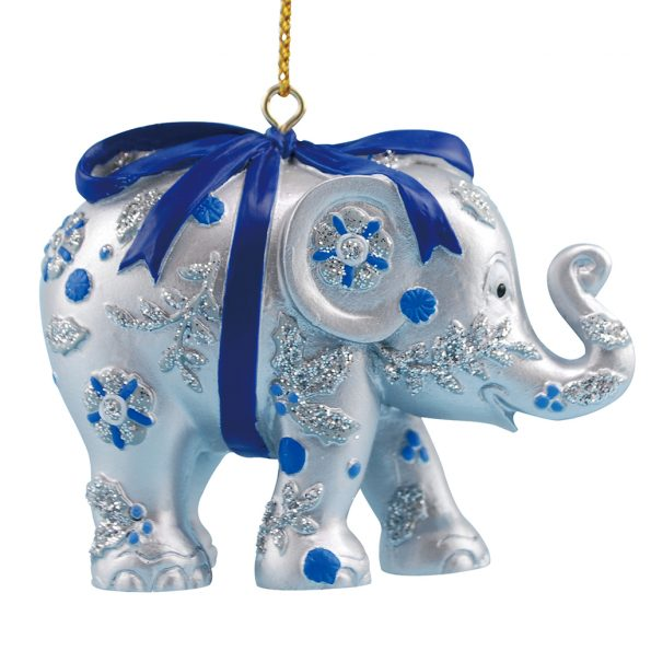 Ornament Bundle of Joy Silver