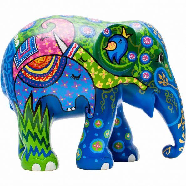 Elephant Herd 15cm