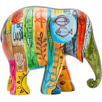 Psycho Elephant Antropofágico Tropical figurine