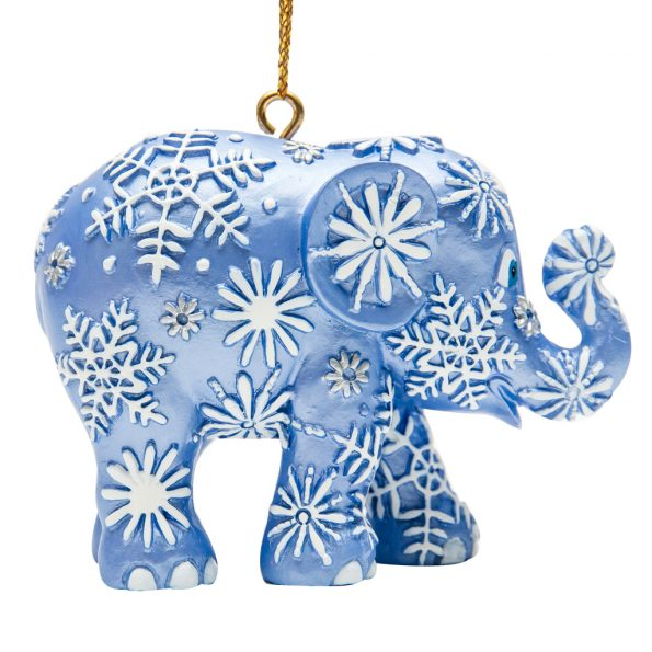 Ornament Snowfall Blue (Copy)