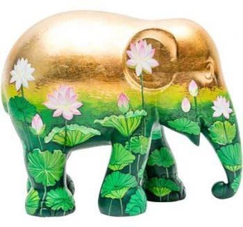 Golden Lotus 20cm