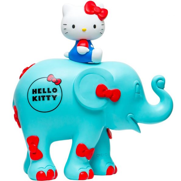 Hello Kitty – Bow Blue 10cm