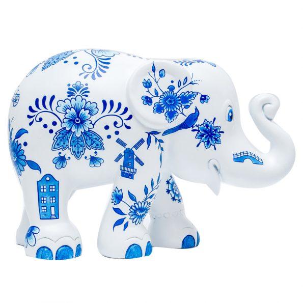 Delft Blue Allover 10cm