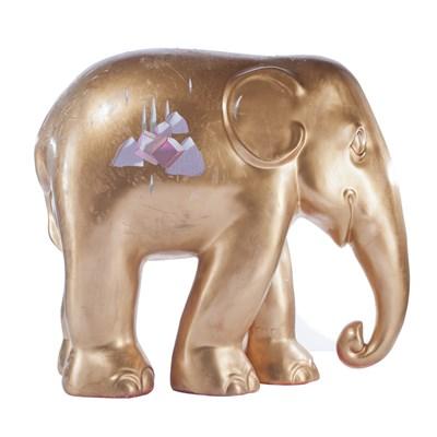 Elephant-landscape 15cm