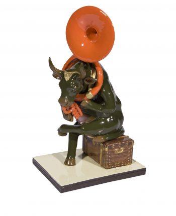 Josephine au Trombone (medium resin)