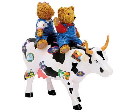 Teddy Bears on the Moove (medium resin)