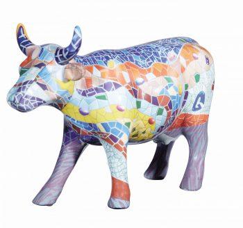 Cow parade Barcelona figurine
