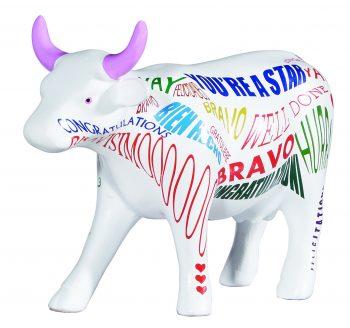Cow parade Bravisimoo figurine