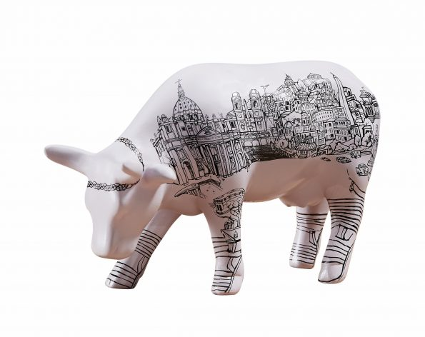 Roma Cow (medium ceramic) 2