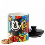 Mickey Mouse and Pluto Cookie Jar Small