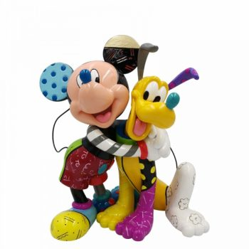 Mickey and Pluto Figurine