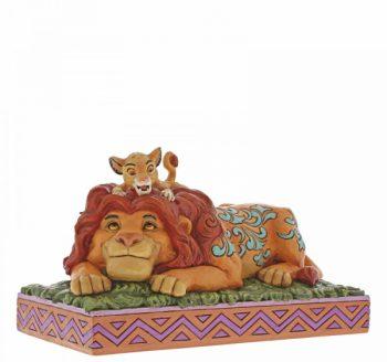 A Father's Pride (Simba & Mufasa Figurine)