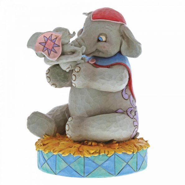A Mother's Unconditional Love (Mrs Jumbo and Dumbo Figurine)