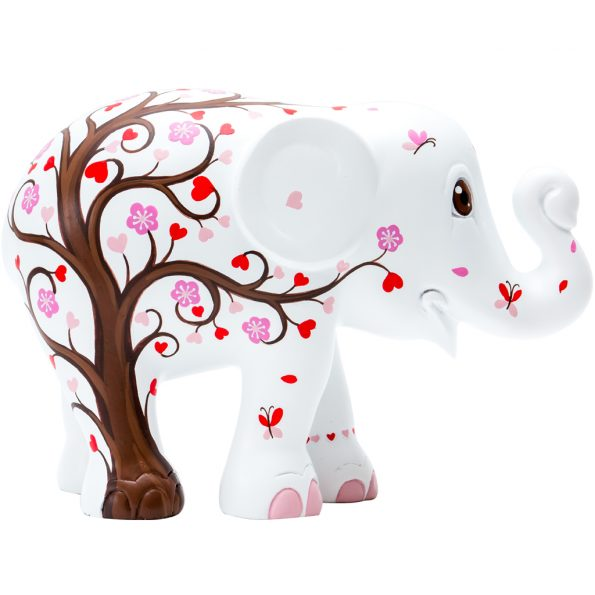 Blossoming tree of love 15 cm figurine