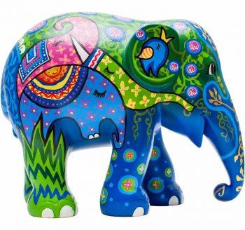 Elephant Herd figurine