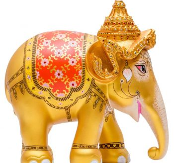 Royal elephant Gold 75CM