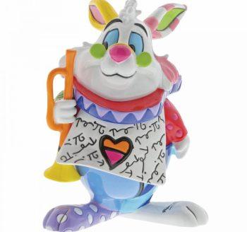 White Rabbit Mini Figurine