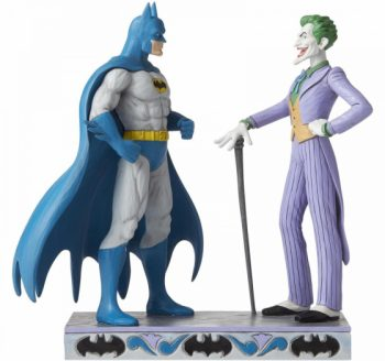 "Jim Shore "" Batman and The Joker Figurine """