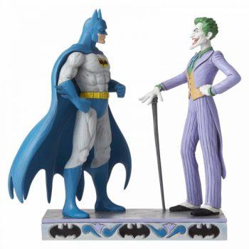 "Jim Shore "" Batman and The Joker Figurine """