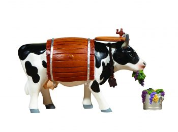 Clarabelle the Wine Cow (Medium)