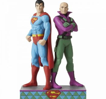 Superman and Lex Luthor Figurine