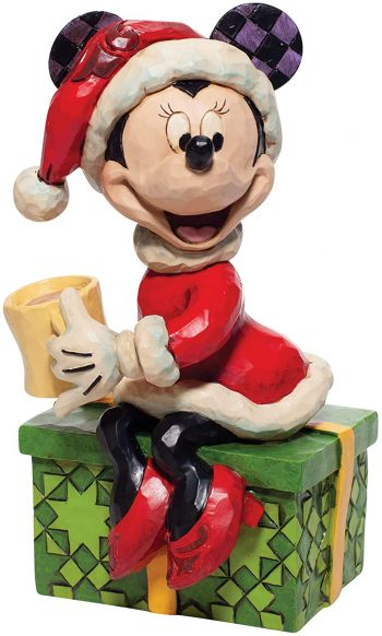 Disney Traditions Minnie Mouse with Hot Chocolate Figurine