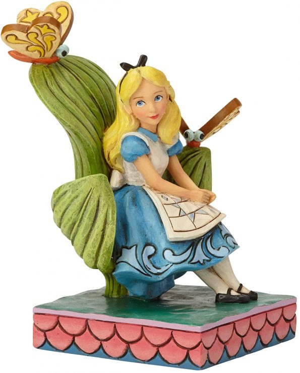 Curiouser and Curiouser (Alice in Wonderland Figurine) 3