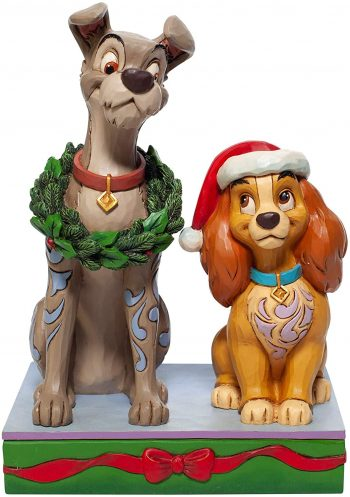 Disney Traditionele Decked out Dogs (Lady and the Tramp Figurine)