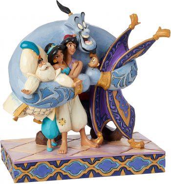 Disney Traditions Group Hug! (Aladdin Figurine)