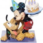 Happy Birthday Pal (Pluto and Mickey Birthday Figurine)
