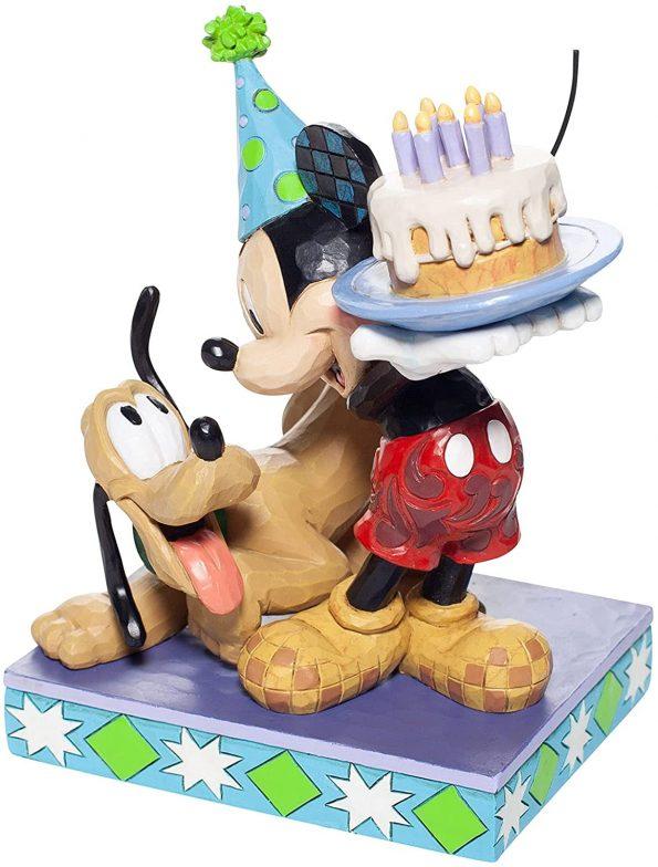 Happy Birthday Pal (Pluto and Mickey Birthday Figurine) 2